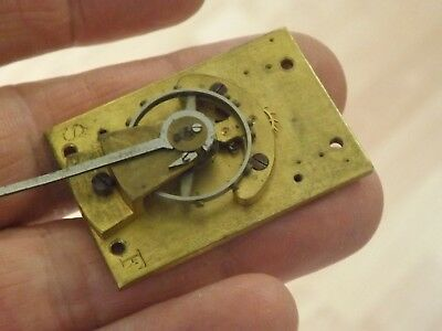 Good Vintage Platform Escapement For A Clockmaker Working