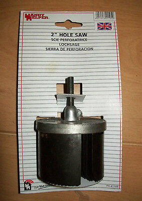 "HOLE SAW 26-63mm 7pc  SAWING ROUND CIRCULAR 2"" INCH wwod plastic"