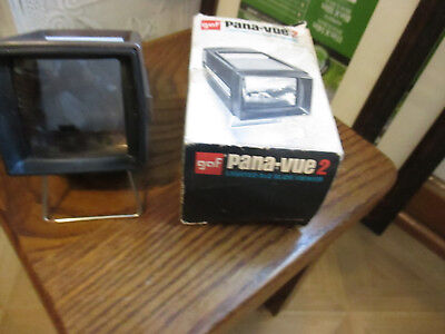 Vintage Pana-Vue 2 by View-Master Lighted 2x2 Slide Viewer  in original box