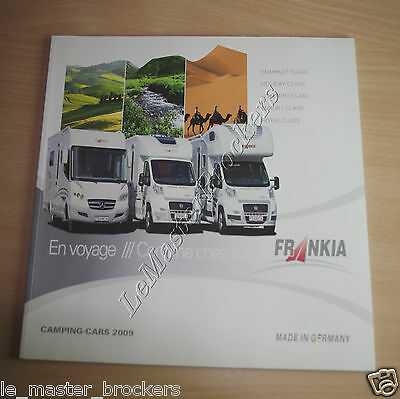FRANKIA Camping-car   Catalogue brochure pub 2009