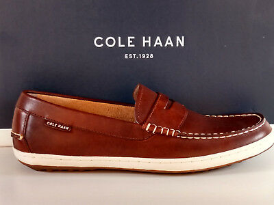 22ae89cd6c4 Cole Haan Pinch Weekender Road Trip Men s Penny Loafer Woodbury Handstain  New