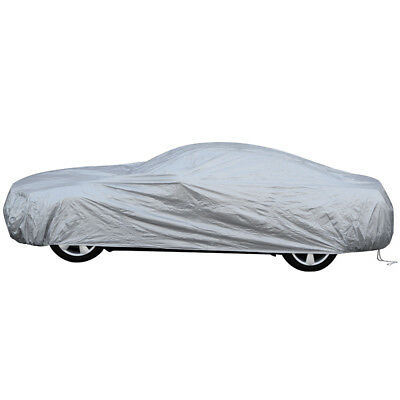 Full Car Cover Solar Reflective Outdoor Soft Durable Waterproof Dual Outer Shell