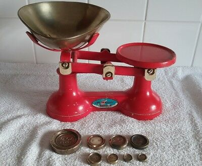 Kitchen Scales Red The Viking Wolverhampton