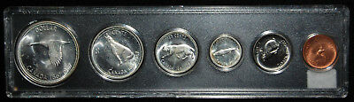1967 Canadian Six Coin Set