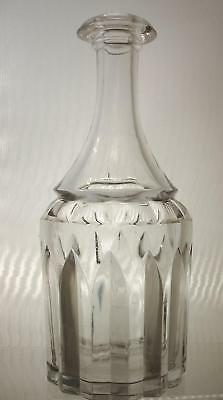 19th Century Glass Bar Bottle Decanter Arch Type Pattern    -  Sale This Week