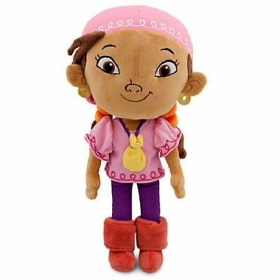 "Disney Jake and the Never Land Pirates IZZY Plush Doll 11""-NEW w/tags-free ship"