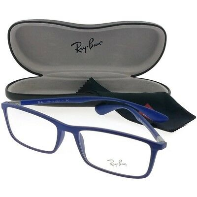 New Authentic Eyeglasses RAY BAN RX7048-5439 Size 56mm Blue