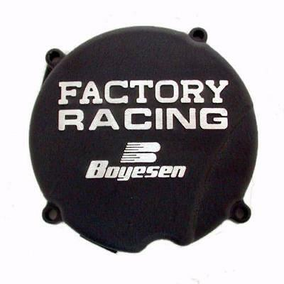 Boyesen Factory Racing Ignition Cover Black Fits Honda CR500 1984-2001