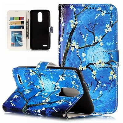 Cell Phone Case PU Leather Wallet Pouch Flip Cover For Samsung Galaxy LG Moto