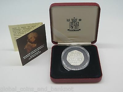 UK - 2005 Anniversary Of Samuel Johnson's Dictionary 50P Silver Proof Coin