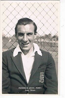 TENNIS - R/P - FRED PERRY, ENGLISH TENNIS PLAYER, RANKED WORLD NO.1, 1930s