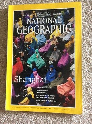 National Geographic Magazine March 1994