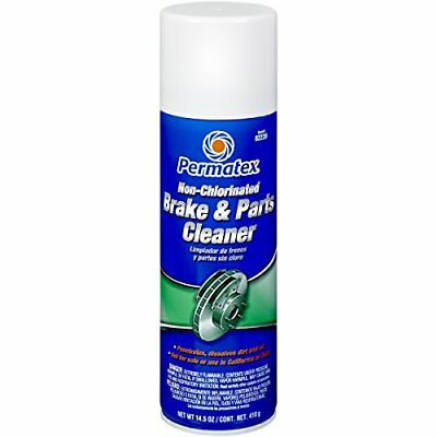 Permatex 82220 Non-Chlorinated Brake and Parts Cleaner, 14.5 oz. Aerosol Can