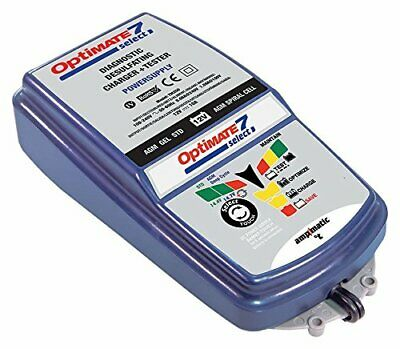 OptiMATE 7 Select, TM-251, 9-step 10Amp battery charger for 12V starter and deep