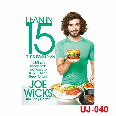 Lean in 15 The Sustain Plan 15 Minute Meals and Workouts By Joe Wicks Paperbak