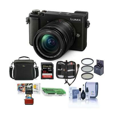 Panasonic Lumix DC-GX9 Mirrorless Camera w/12-60mm Lens Black And Free Accessory
