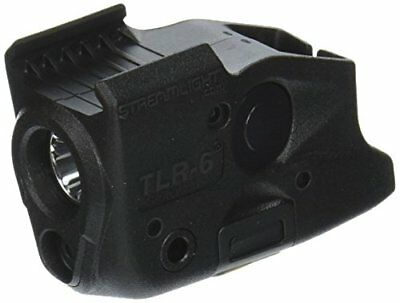 100 Lumen Tactical Pistol Mount Flashlight TLR-6 with Red Aiming Laser - Black