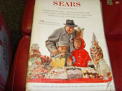 Vintage Sears Catalog Fall and Winter 1958 unique old fashions Christmas retro