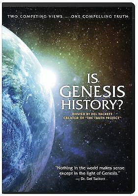 Is Genesis History? (DVD Video) - New - Free Shipping