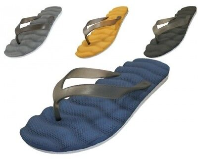 MEN'S INSOLE WAVES BED FLIP FLOPS > (Lot of 48 Pairs)