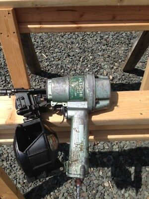 "HITACHI nv50A1 1-1/2 2"" WIRE COLLATED NAILER GUN"
