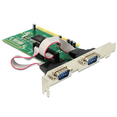 Delock 89003 PCI card 2x serial interface cards/adapter Modem - PCI - 1 Mbps -