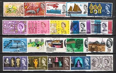 QEII 1963-64  8 used Commemorative sets (j451)