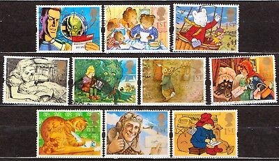 QEII 1994 Greetings stamps Messages used set (j900)