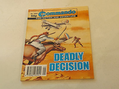 Commando War Comic Number 2959,1996 Issue,v Good For Age,21 Years Old,very Rare.