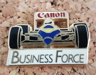 Pin's Automobile Formule 1 F1 Canon Business Force