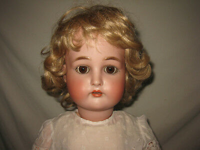 "Antique 30"" Kammer & Reinhardt K*R / Simon & Halbig Bisque Socket Head Doll MB2"