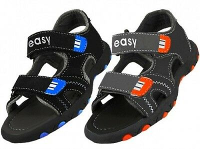 YOUTH'S HOOK AND LOOP CLOSURE SPORT SANDALS > (Lot of 24 Pairs)