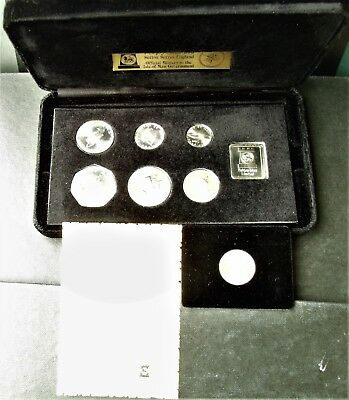 Isle of Man  1978 25th Anniversary of Coronation Silver BU Set with COA