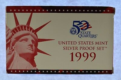 1999 United States Silver Proof Set (a313.18)