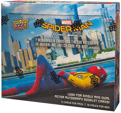 Spider-Man Homecoming Movie Factory Sealed Trading Card Box