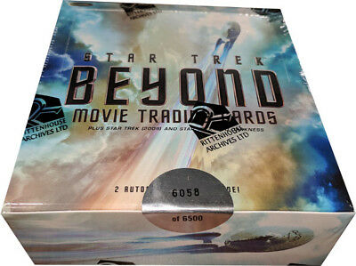 Star Trek Beyond Movie Factory Sealed Box of 24 Packs