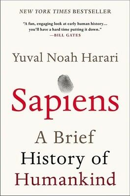 Sapiens: A Brief History of Humankind [New Book] Paperback