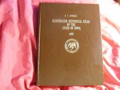 A.t.andreas Illustrated Historical Atlas Of The State Of Iowa 1875