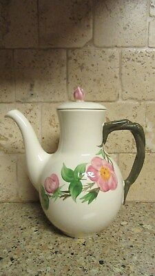 Vintage Franciscan Ware Desert Rose Tea Pot Coffee Pot Made in England