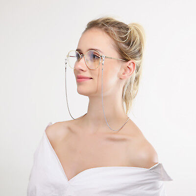 Copper String Eyeglasses Chain Reading glasses Metal Cords Sunglasses Spectacles
