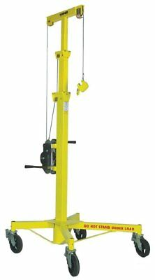 "Sumner 780300 R-100 Roust-A-Bout Material Lift, 15' Height, 32"" x 40"" Base"