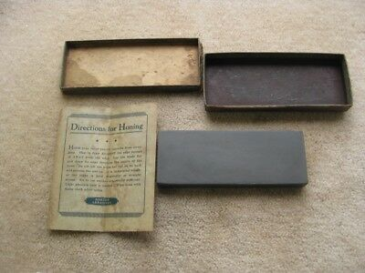 NORTON PIKE NATURAL GRANITE OILSTONE RAZOR HONE Made in USA