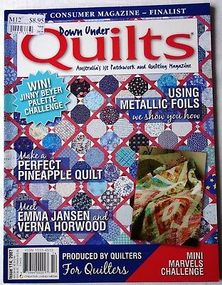 Down Under QUILTS Australias ist Patchwork and Quilting Magazine 114 /2007