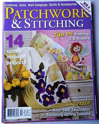 Heft  Patchwork  & Stitching Vol 7  N°11  September 2007