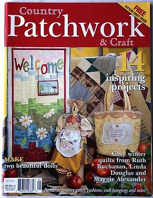 Patchwork Heft   Country Patchwork & Craft  Vol 7  N° 3