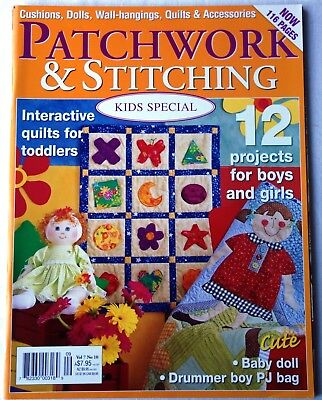 Heft  Patchwork  & Stitching Vol 7  N°10  September 2007