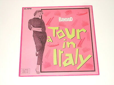 "Band Aid - 12"" Maxi - A Tour In Italy - DE 1984 - Bellaphon 120 07 106"