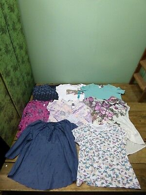 8 Various Multi Colour Pattern Bonmarche Limited Collection Size 20 Tops BNWT