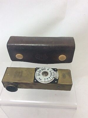 Vintage GHD Heyde Photo Telemeter Brass