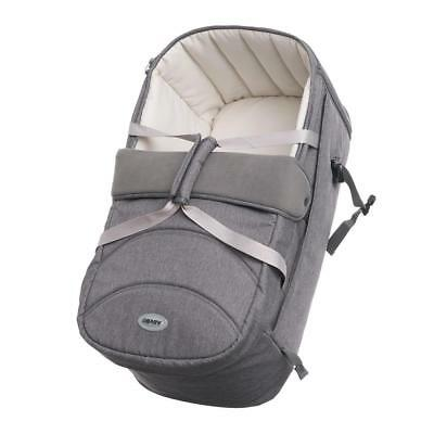 Obaby Zeal Soft Carrycot 2018 (Grey)